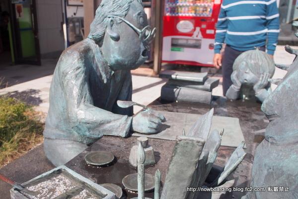 境港観光 鬼太郎 銅像