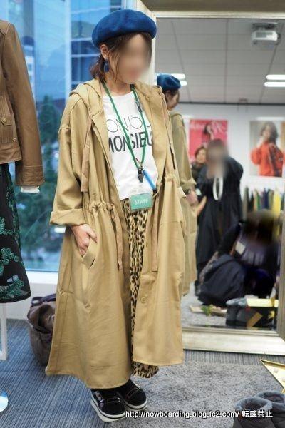 ネイビー ライナー付ロング丈モッズコート