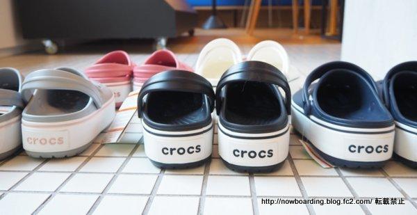 クロックス crocs クロックバンド プラットフォーム クロッグ