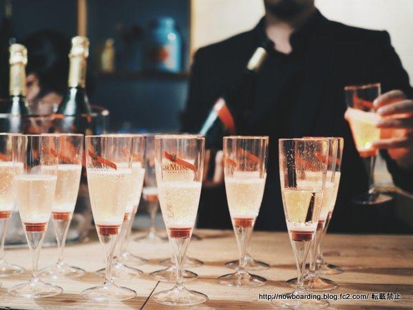 メゾンマム シャンパン