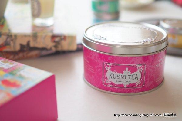 KUSMI TEA クスミティー スウィート ラヴ 飲んだ感想ブログ