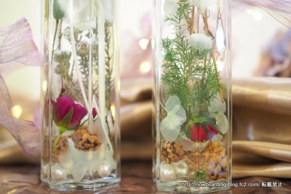 ヒーリングボトル クリスマス 日比谷花壇 Healing Bottle
