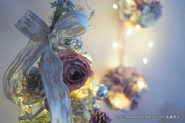 シャビーシックなクリスマス飾り クリスマスツリー