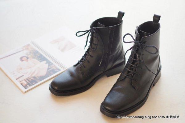 コントワーデコトニエ レースアップブーツ Shoes 履いた感想 ブログ