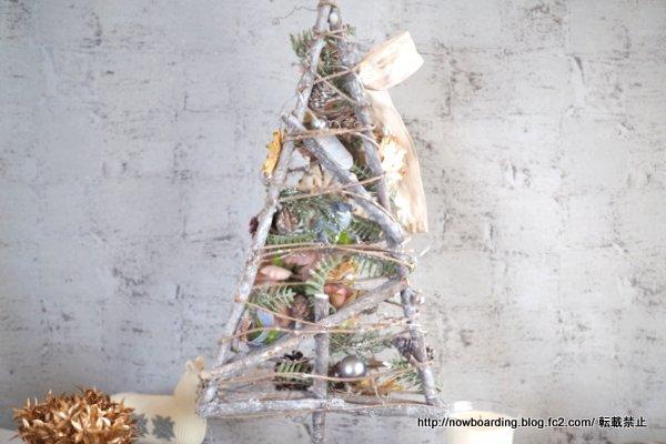 クリスマス アーティフィシャルツリー「シュマン」 ブログ 日比谷花壇 感想