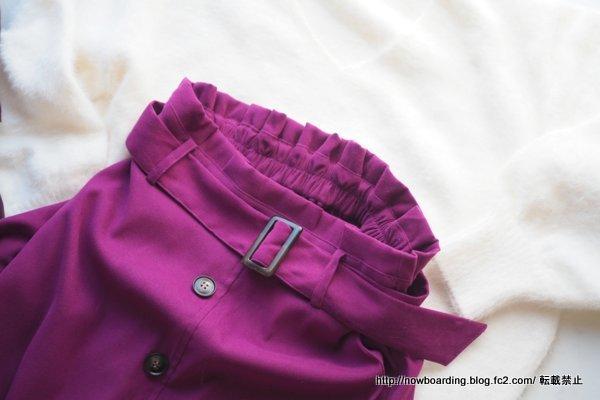 トレンチスカート ハッピー急便 プチプラ30代きれいめファッション