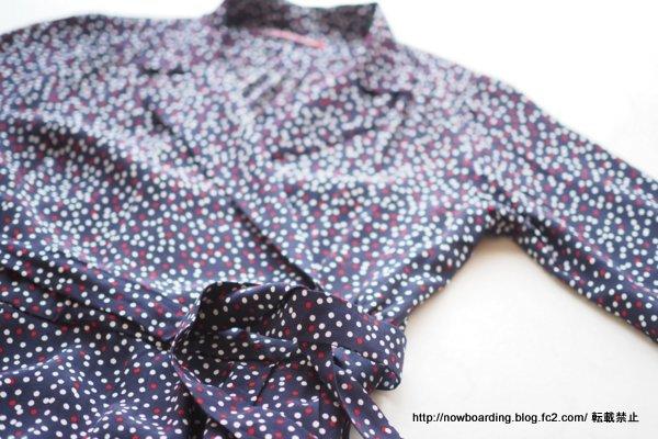 DOTプリントドレス コントワーデコトニエ ブログ