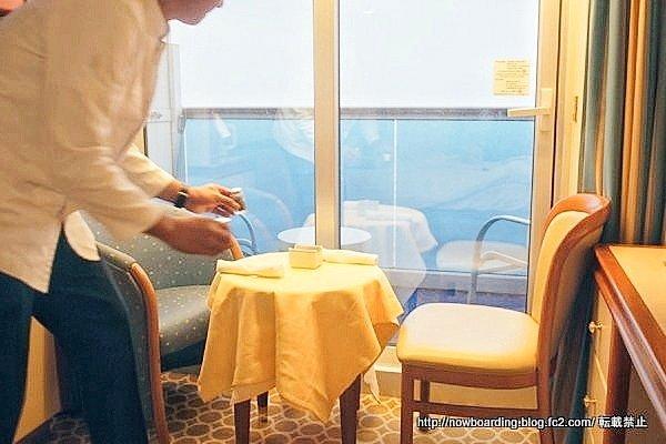 ダイヤモンド・プリンセス デラックスシャンパン・ブレックファスト 感想ブログ