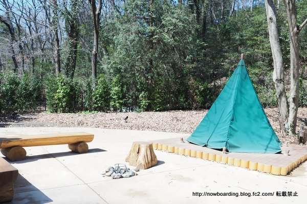 ムーミンバレーパーク スナフキンのテント