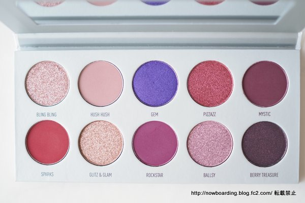 Morphe X Jaclyn Hill Bling Boss Eye Shadow Palette パレット使った感想