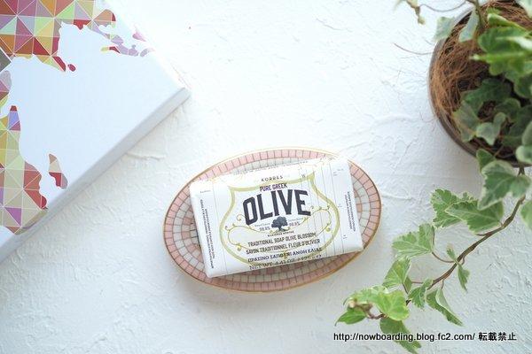 6月のルックファンタスティックビューティボックス KORRES OLIVE Olive Blossom Soap