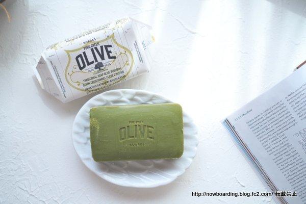 6月のルックファンタスティックビューティボックス KORRES OLIVE Olive Blossom Soap オリーブ