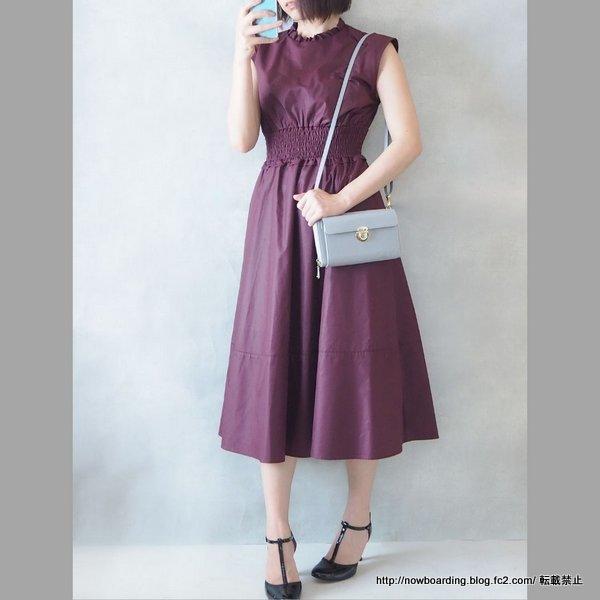 30代キレイメファッション Noela ノエラの2019秋冬ワンピース