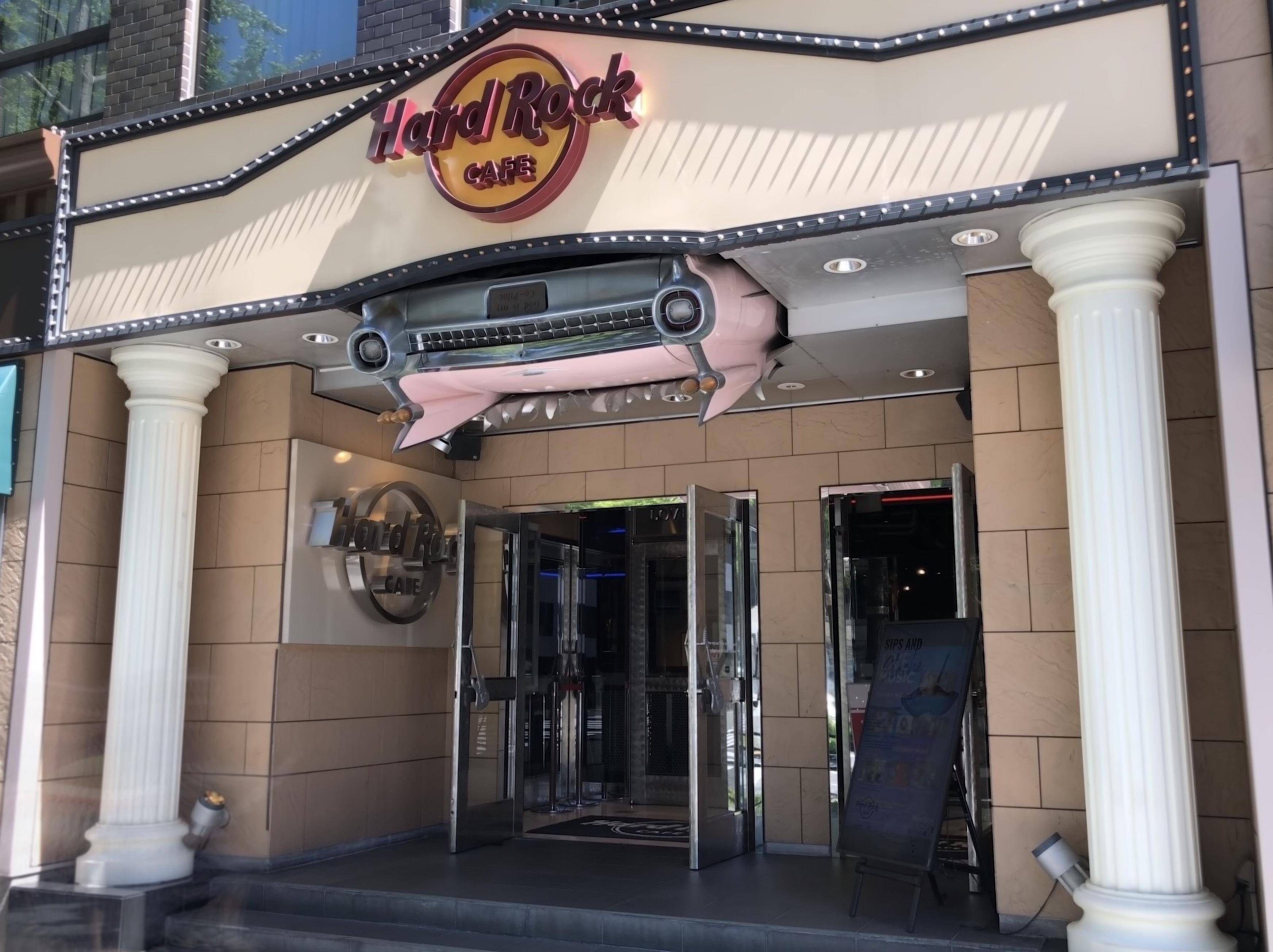 ハードロックカフェ大阪 エントランス