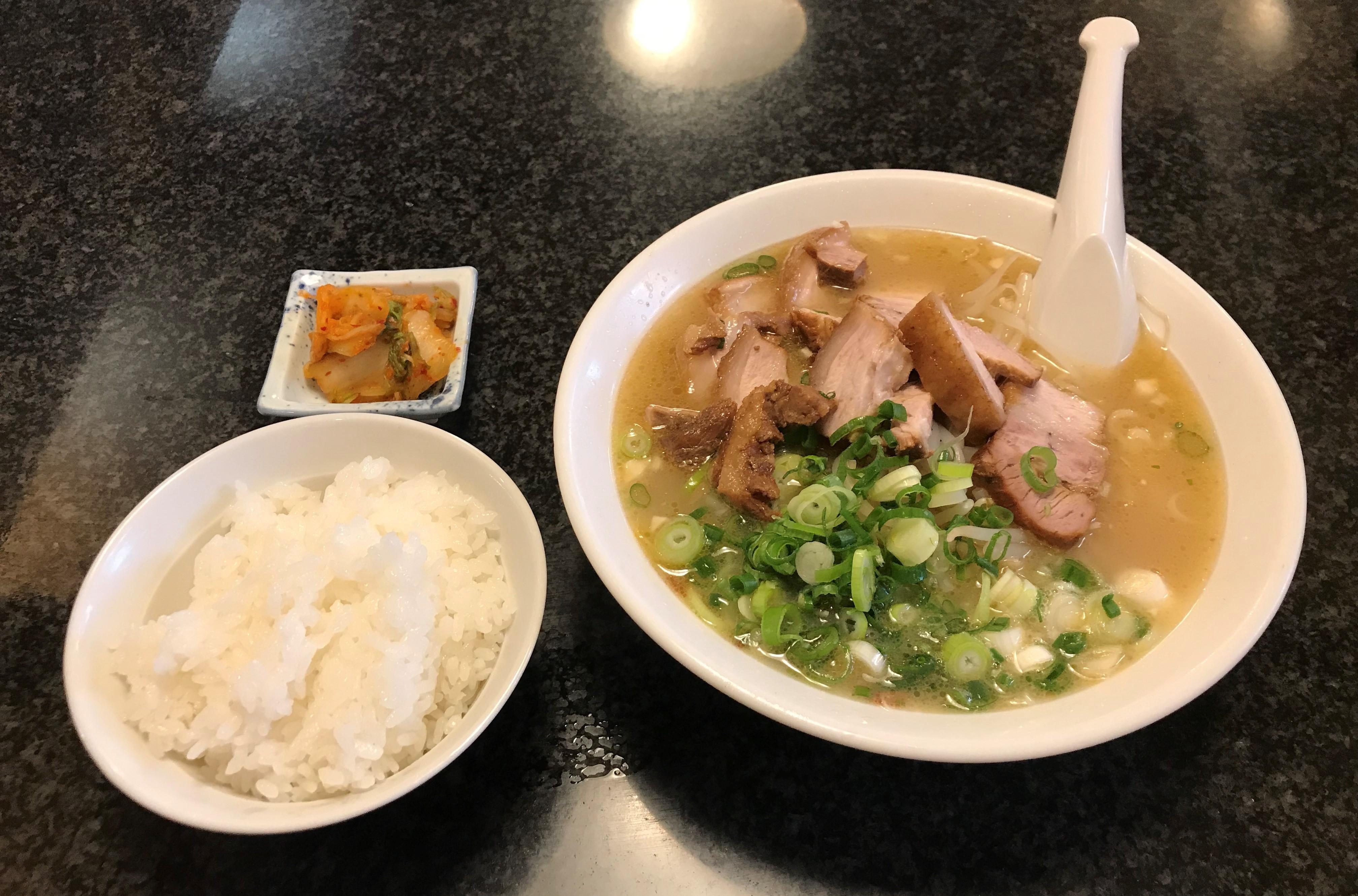 薩摩っ子ラーメン 大東店 チャーシュー麺定食