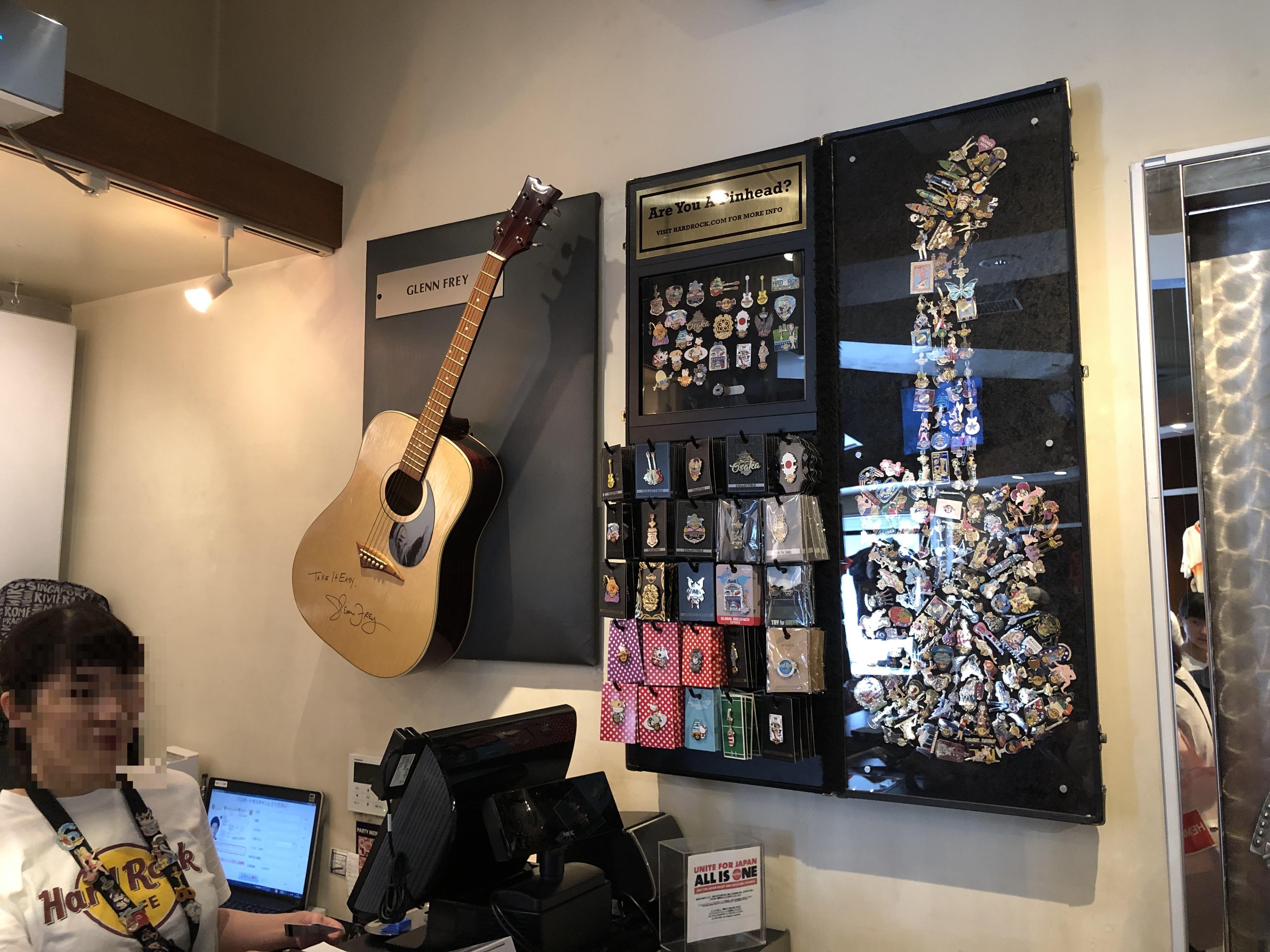 ハードロックカフェ大阪 お土産