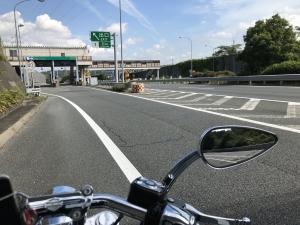 ぴーきち&ダイナ ハーレーで行くメタセコイア並木 京滋バイパス