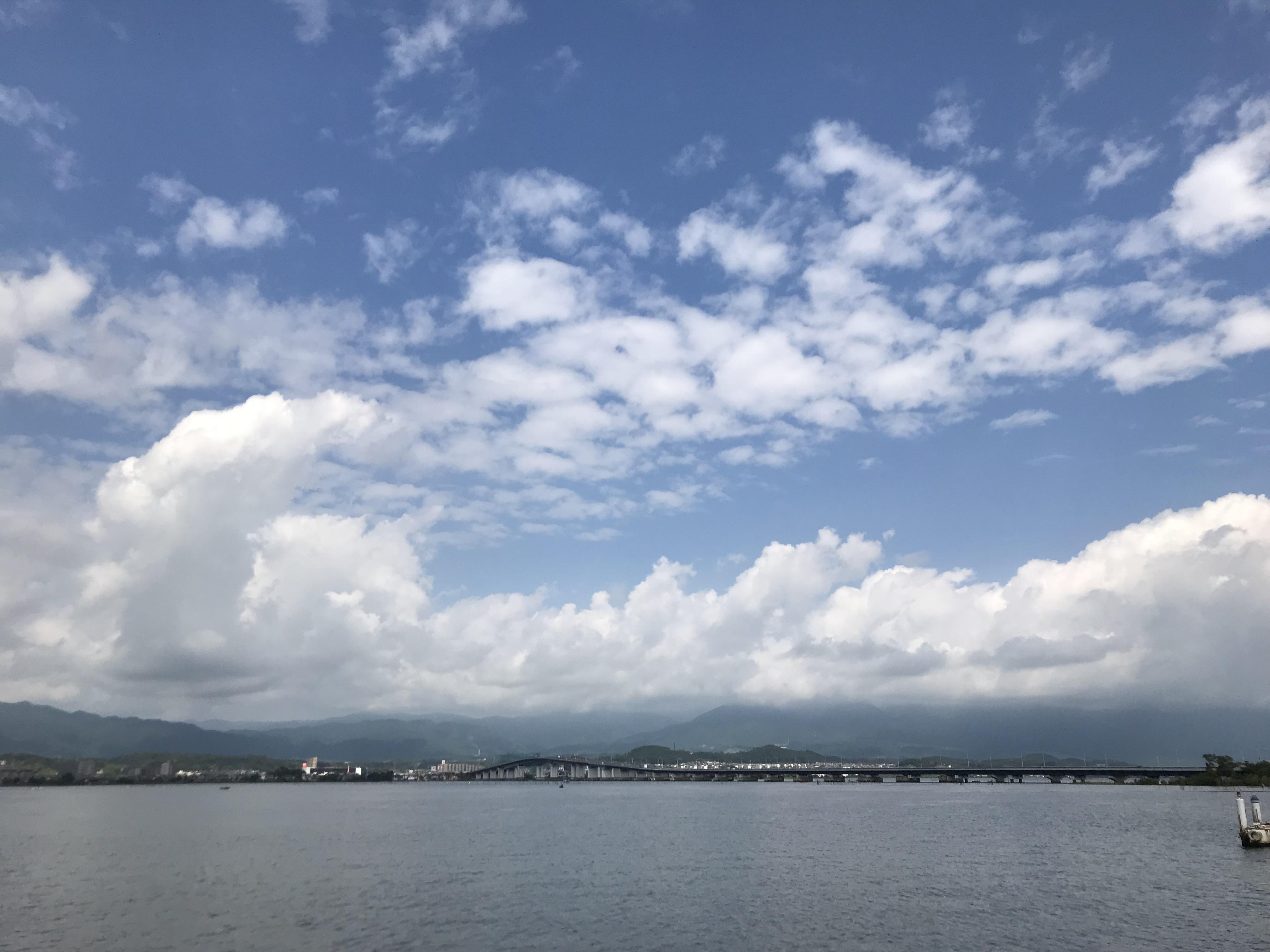 ハーレーとカワサキで行く近江八幡ツーリング 琵琶湖大橋