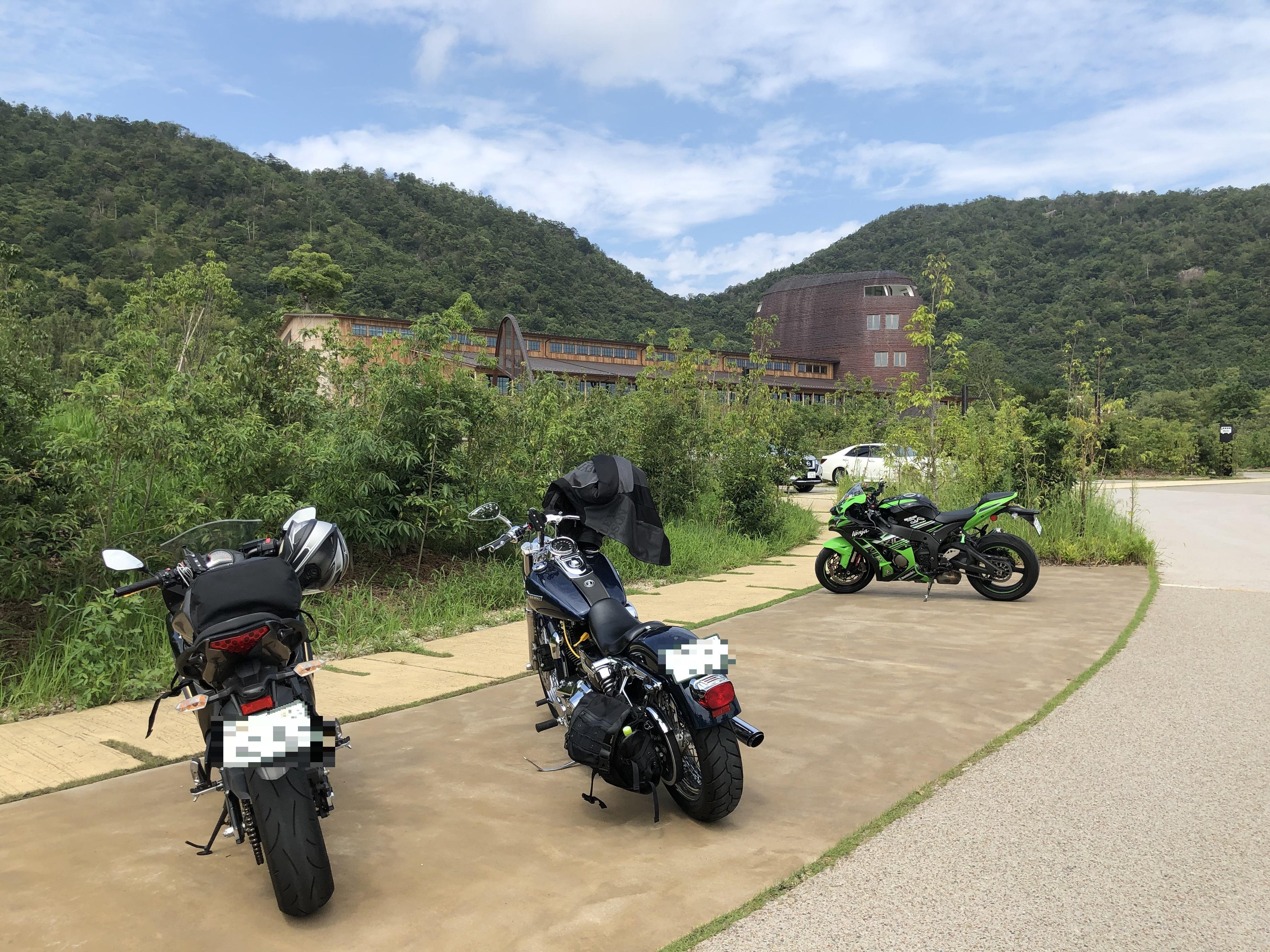 ハーレーとカワサキで行く近江八幡ツーリング ラ・コリーナ
