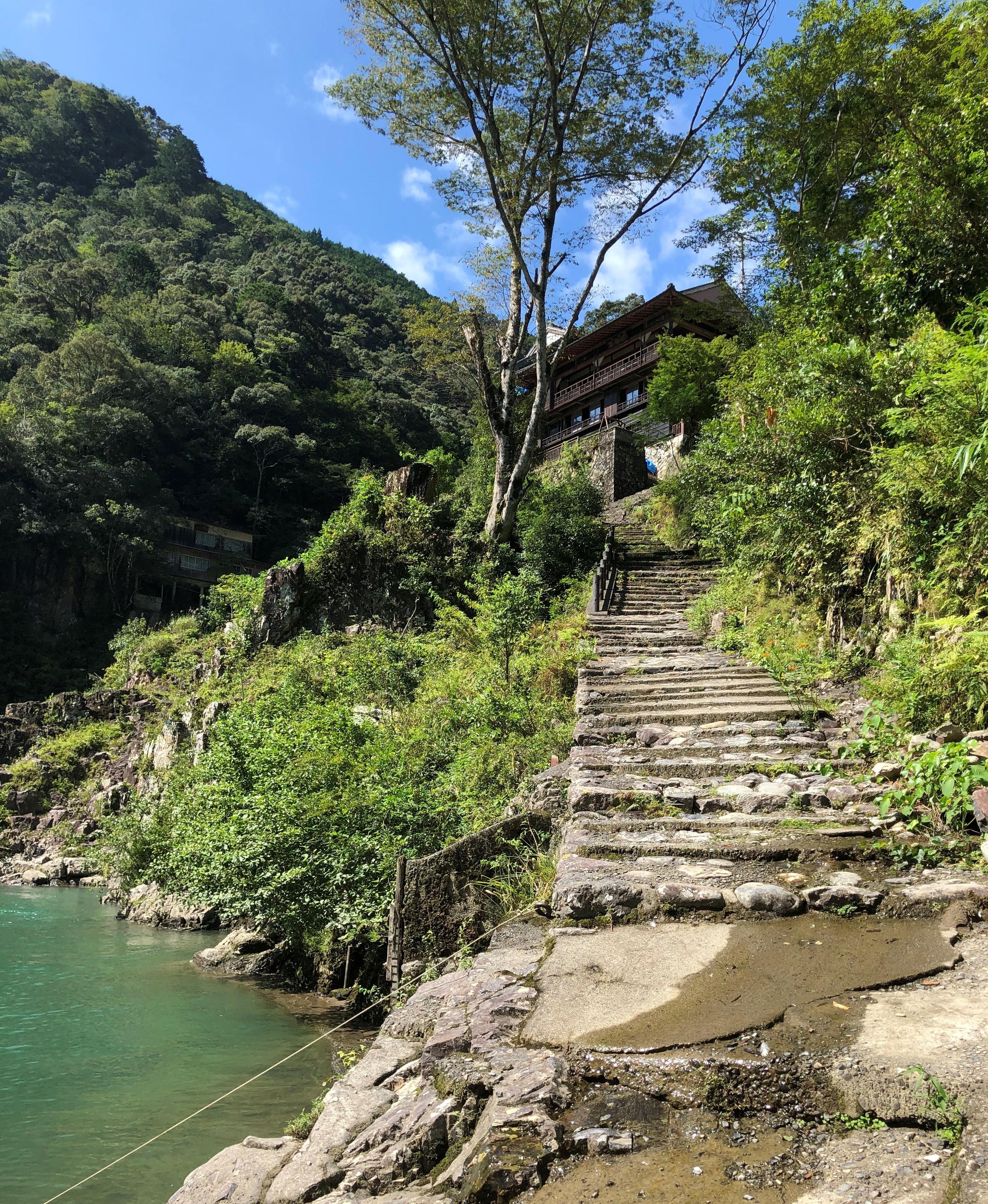 ぴーきち&ダイナ ハーレー で行く 十津川村 ツーリング 瀞峡