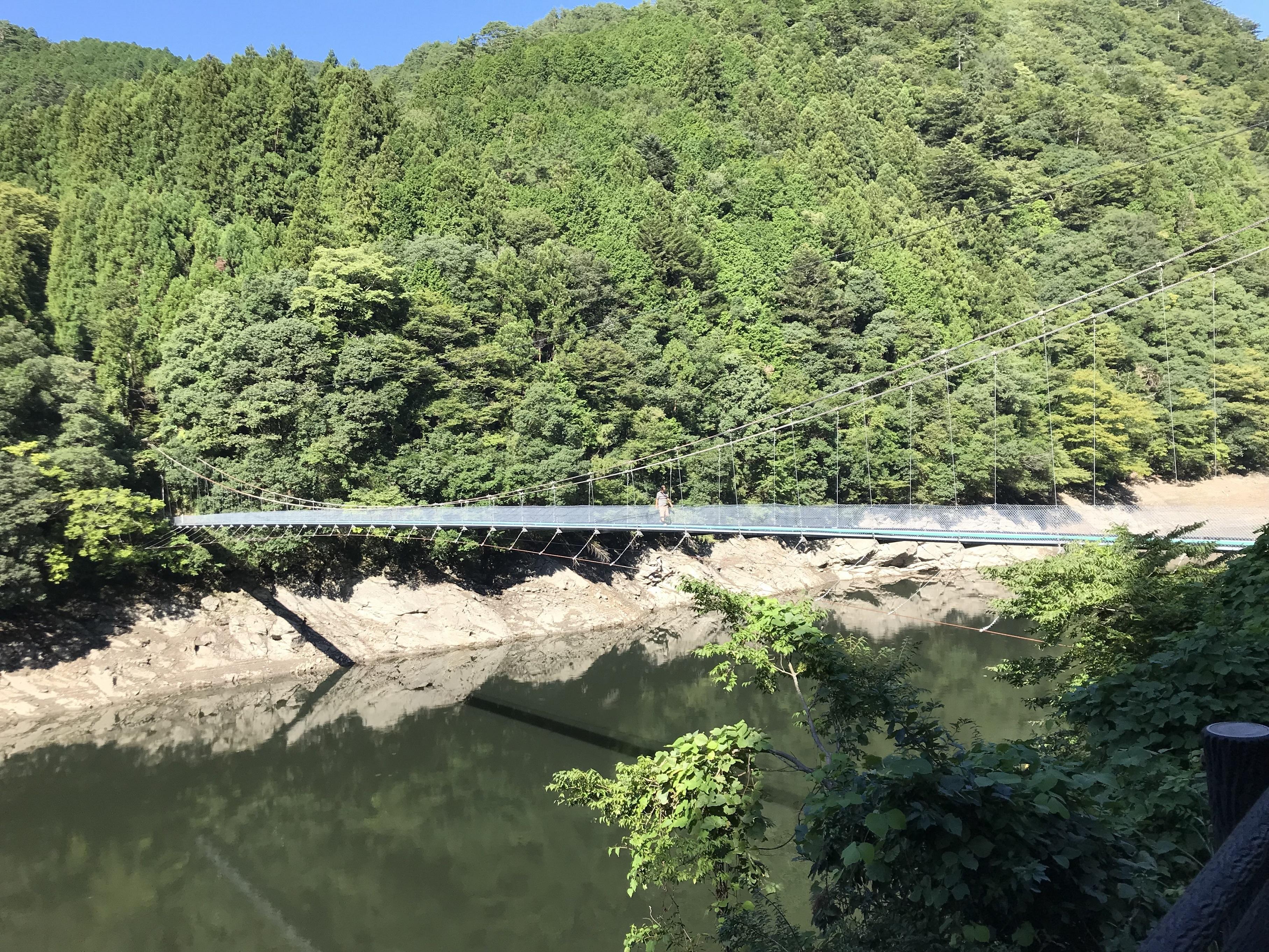 ぴーきち&ダイナ ハーレー で行く 十津川村 ツーリング 阪本橋