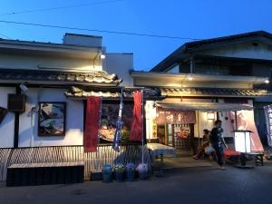 小豆島の夕食 味彩