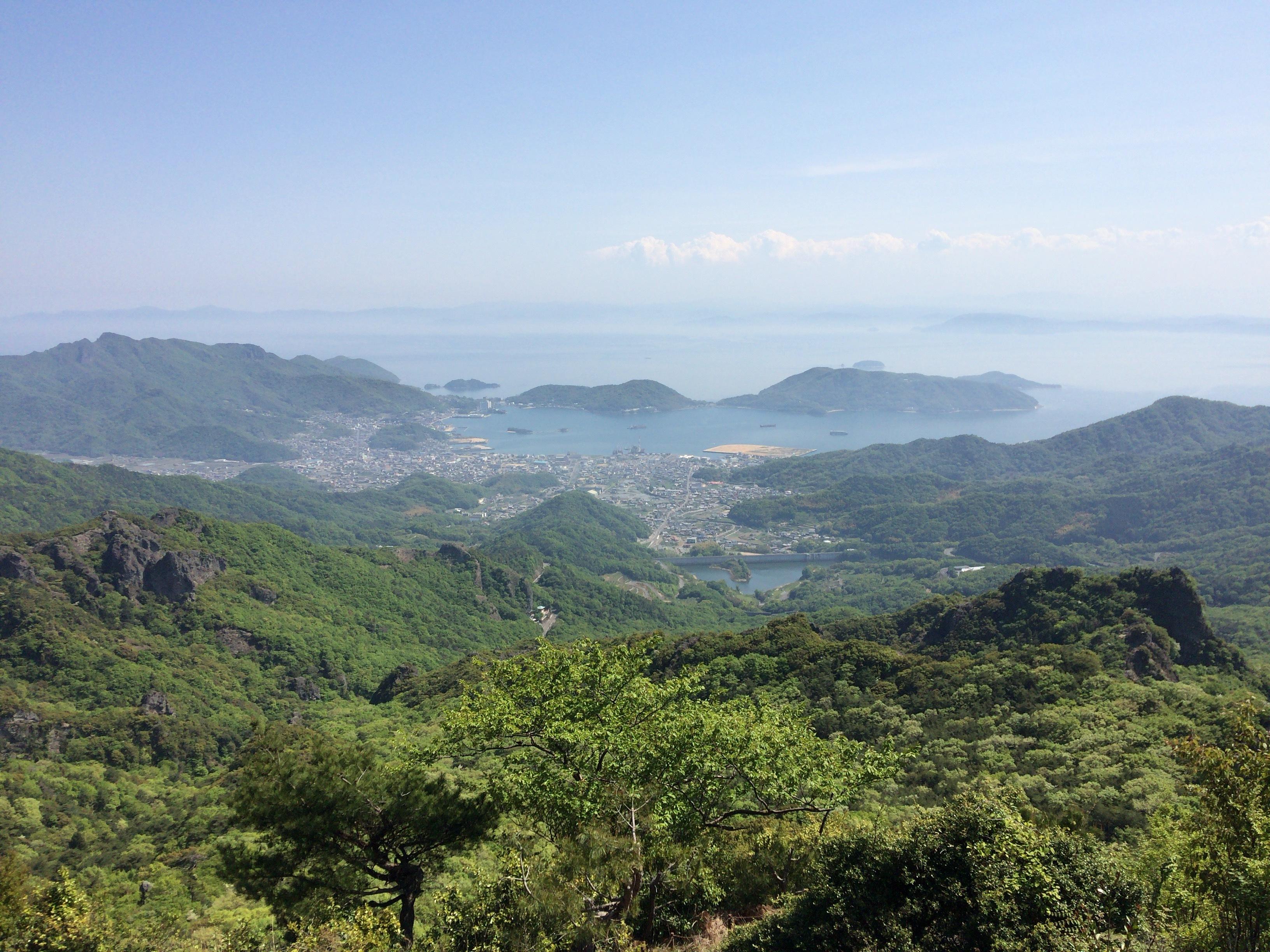 小豆島 寒霞渓 絶景です