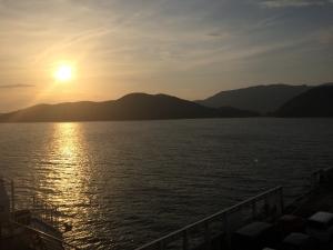小豆島 夕焼け