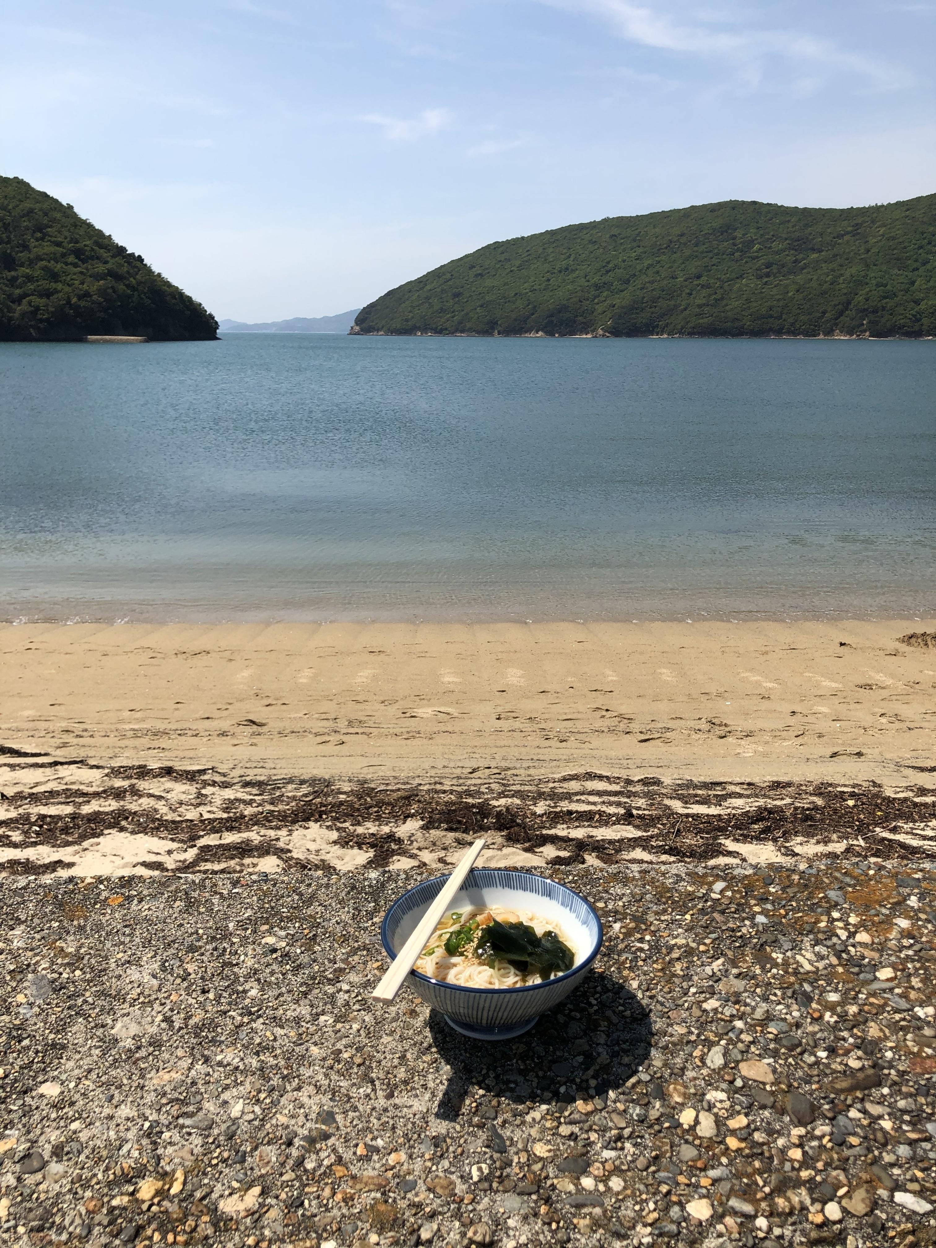 ツーリング 小豆島 素麺