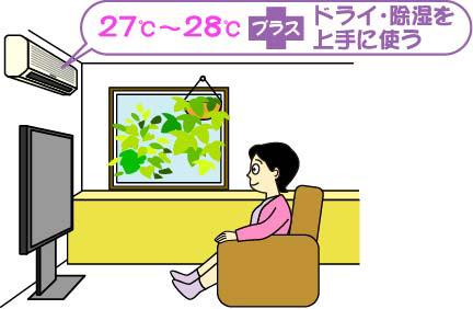 冷房病イラスト1
