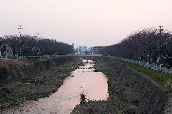 香流川夕景