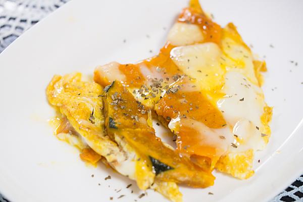 カボチャのチーズ卵