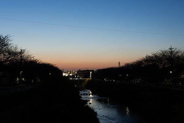 香流川夜景