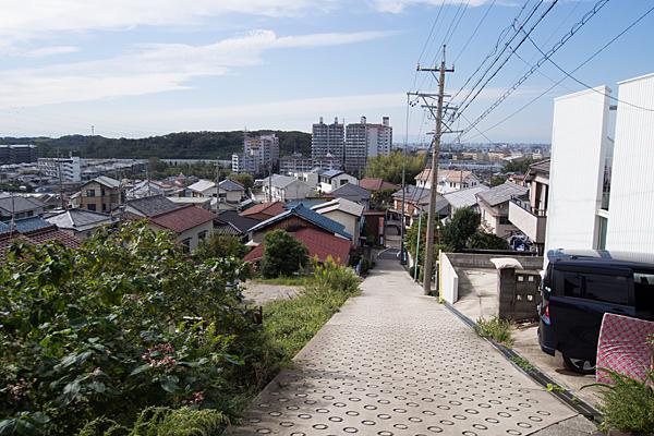 坂道の風景