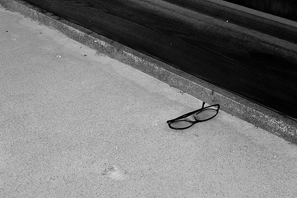 眼鏡の落とし物