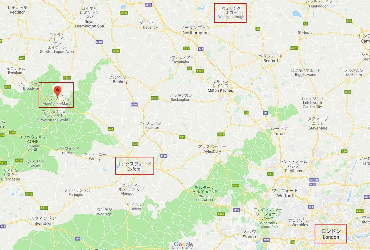 1905-00-Morton-Morton Wellingborough Map marked