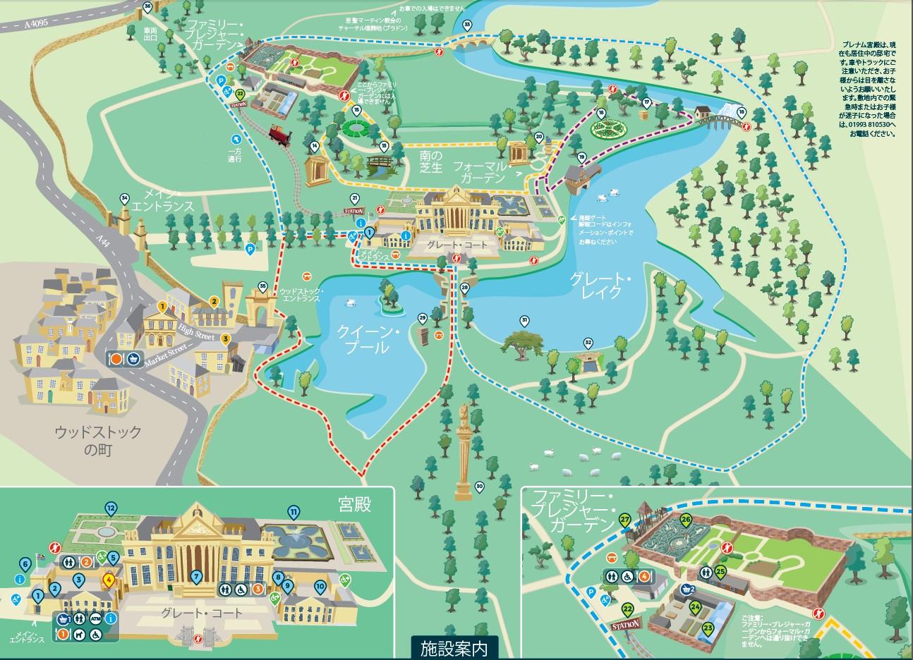 1905-04-Blenheim-Blenheim map 日本語