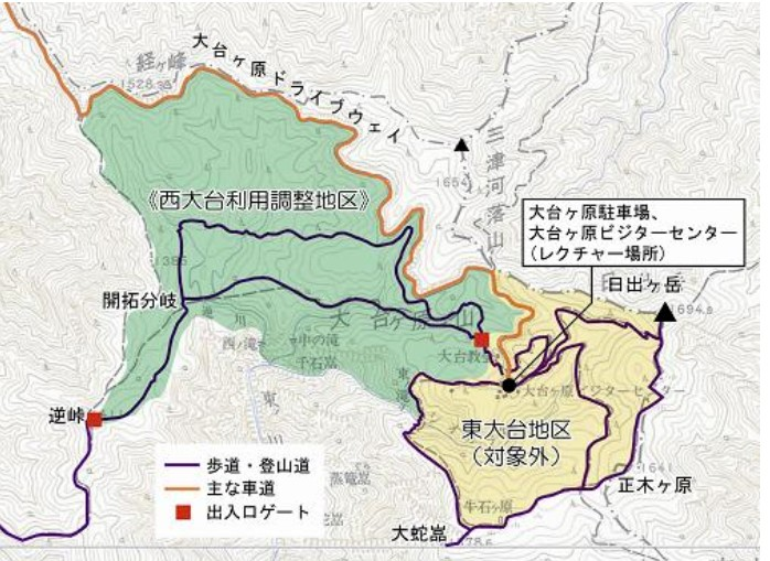 1907-02-西大台-西大台ケ原map