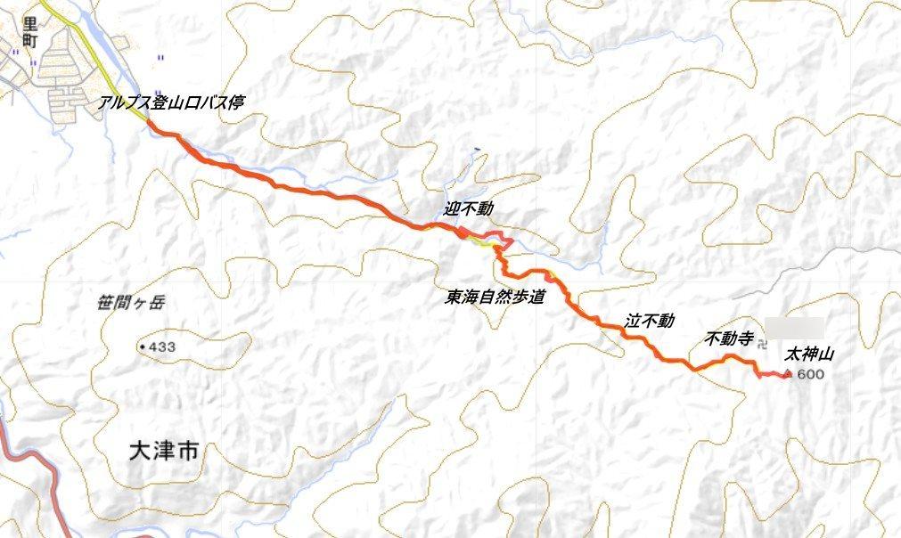 1909-00a-太神山-軌跡00
