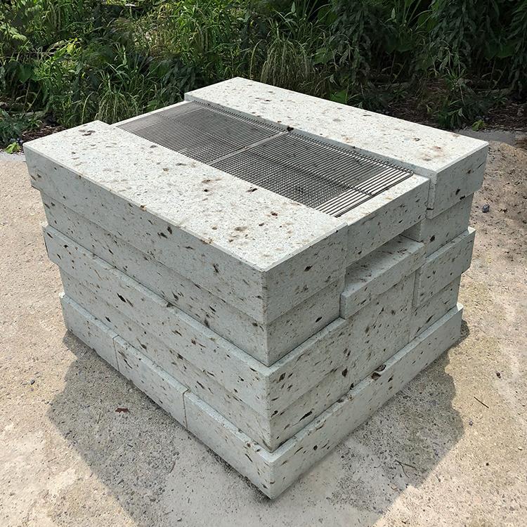 大谷石製バーベキューグリル-イクエ-
