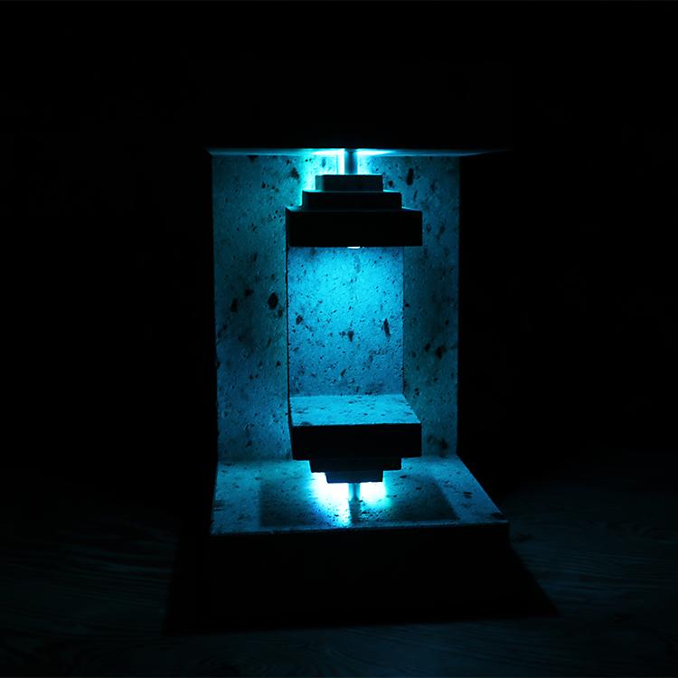 大谷石製変色ライト