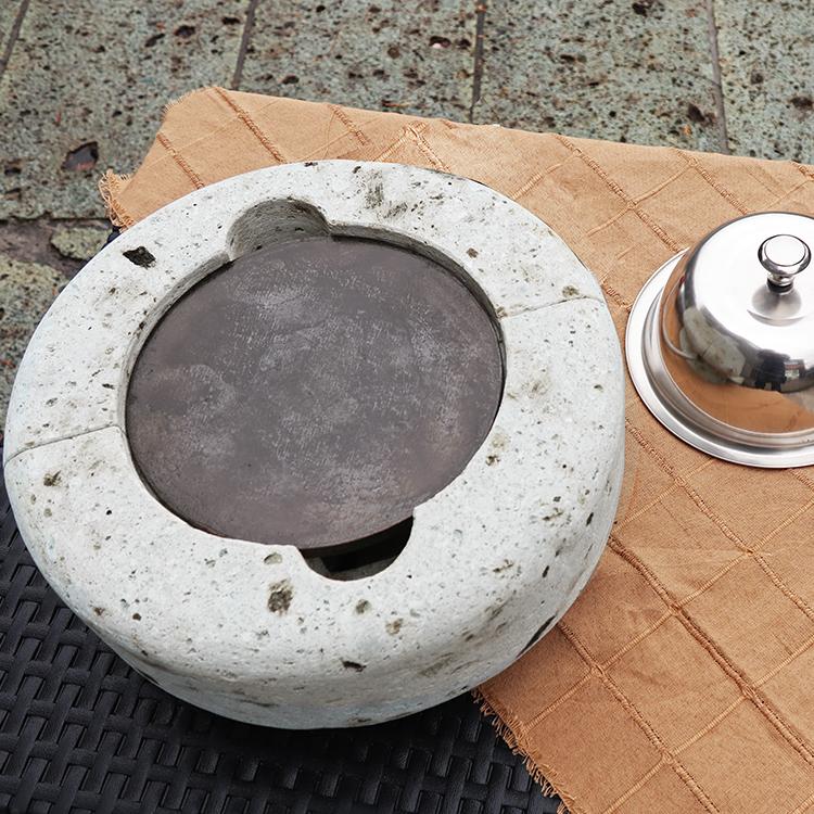 大谷石製本格鉄板グリルRIN