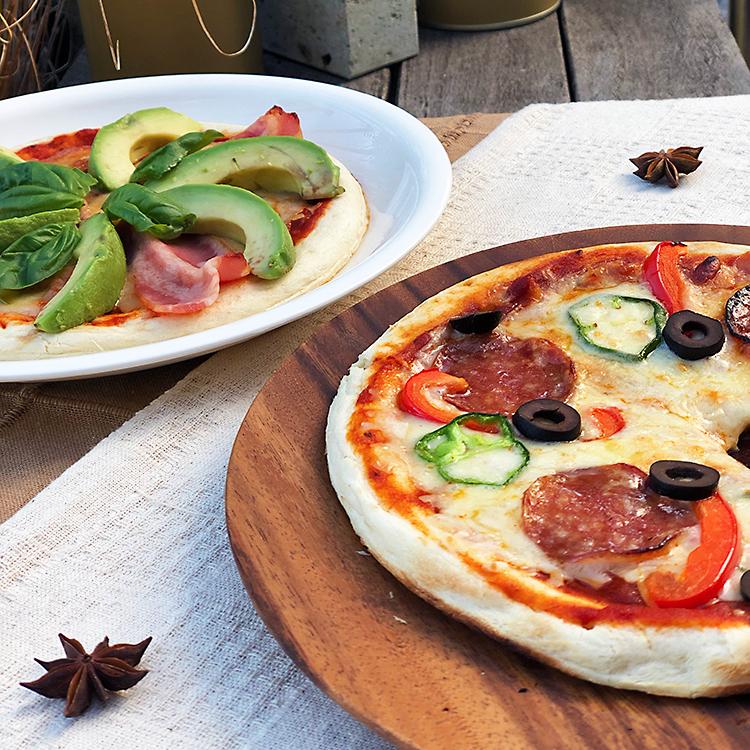 美味しい石窯ピザ