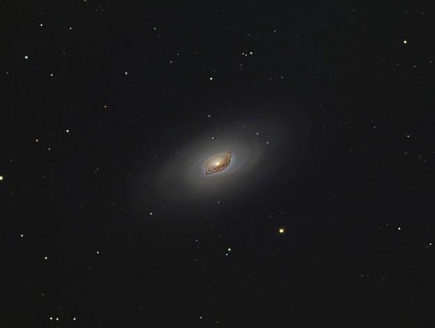 黒眼銀河M64