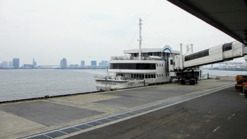ヴァンテアン号に乗船