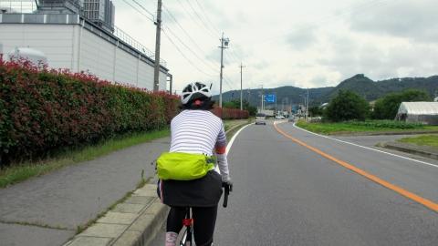 旧菅平有料道路を走ります。意外と車は多い・・・。