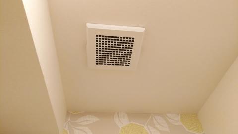 トイレの換気扇も綺麗に