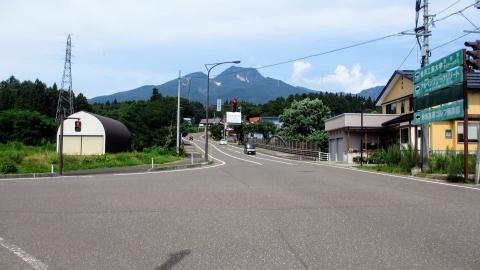 妙高山が見えます。