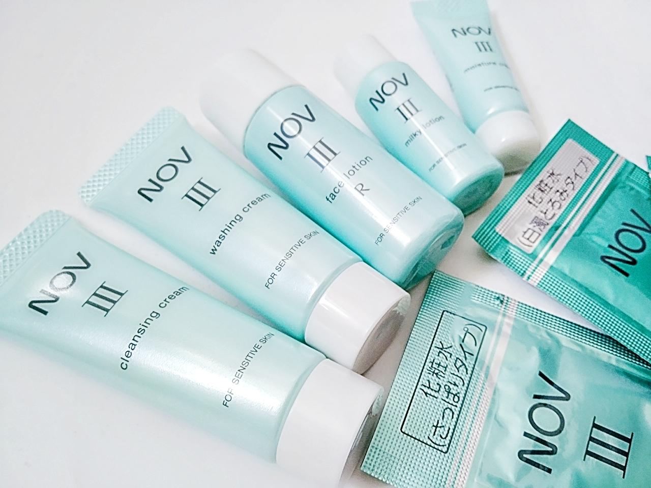 敏感肌で悩んでいるならまず試してみるべき臨床皮膚医学に基づいた高保湿コスメ【ノブlll トライアルセット】