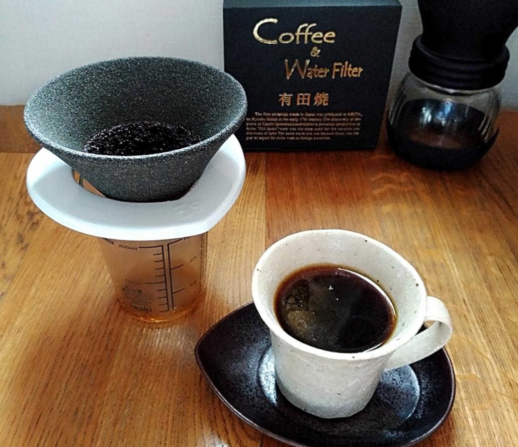 コーヒー好き必見‼有田焼セラミックフィルターでいつものコーヒータイムをワンランク上のカフェタイムに